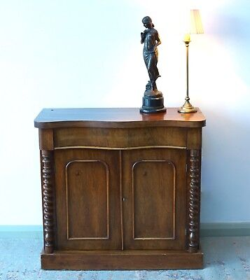 Antique Walnut  Cupboard Sideboard Chiffonier Vintage  -  We Can Deliver