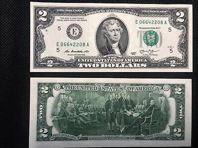 Uncirculated $2 Two Dollar Bill New & Crisp + Qty Bonus + Extras! Read Item Desc