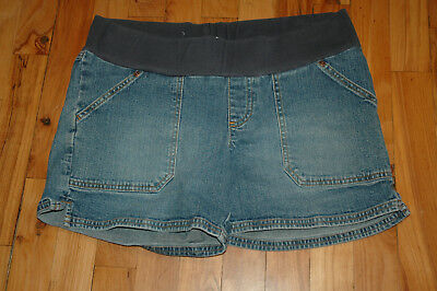 Old Navy Maternity Jean Shorts - Size M Medium - Stretch
