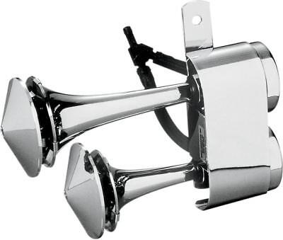 Rivco Air Horn Chrome for Harley Davidson Motorcycles