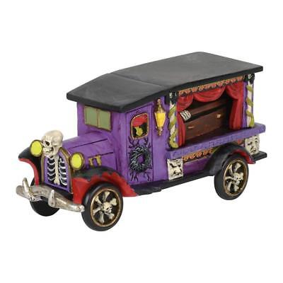 Last Rites Ride Dept 56 Snow Village Halloween 6001740 accessory hearse car A