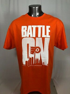13cc0489f Philadelphia Flyers Vintage Playoff T-Shirt Adult Xl Sga Arena Give-Away