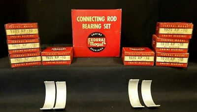Rod Bearing Set For 1953-56 Buick Chevy. Federal Mogul #1925Ap-10 Nos
