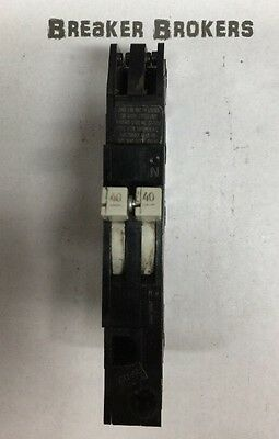 40 AMP Zinsco GTE Sylvania 2 Pole Breaker Type RC-38 with 240V PIN  SHIPS TODAY