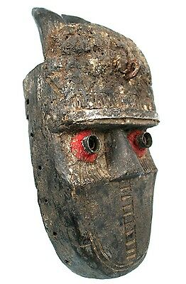 Art African Tribal - Antique Mask Toma Fetish - Liberia - 25,5 Cm