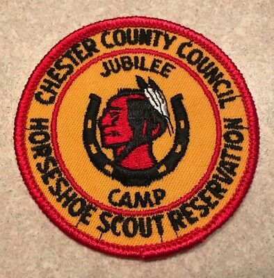 1960 Horseshoe Scout Reservation Jubilee Camp - Chester County Council - New!