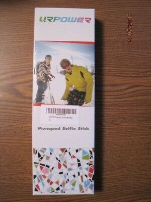 URPOWER Wireless Mobile Phone Monopod Selfie Stick, New, Never Removed From Box