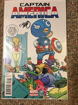 CAPTAIN AMERICA IRON MAN AVENGERS COMIC LOT 1 War Machine Variant Signed
