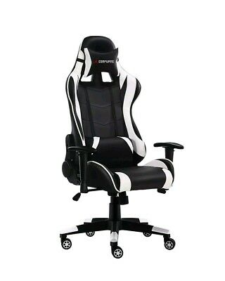 JL Comfurni Gaming Chair Ergonomic Swivel Office Chair High Back BUYER COLLECTS