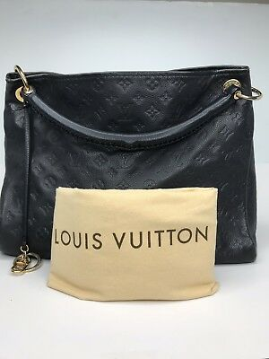 b6cf01f65e40 Louis Vuitton Artsy MM Monogram Empreinte Infini (Navy) Leather Bag  3200