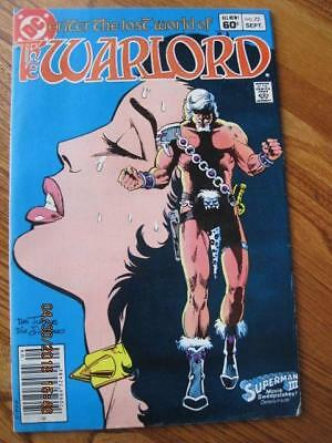 WARLORD Enter the Lost World of .. DC Comic # 73 Sept, 1983 NM