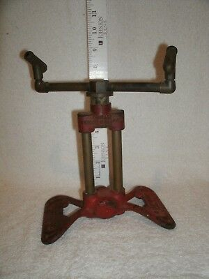 Vintage Cast Iron Rain King Model D Lawn Sprinkler antique mid century modern