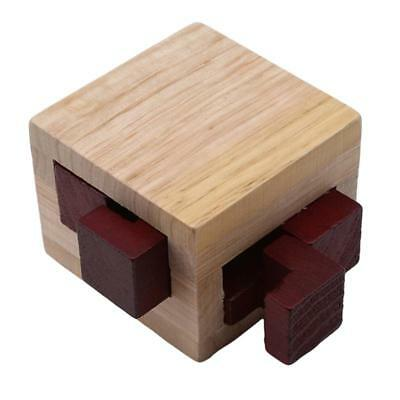 Classic IQ Mind Wooden Magic Box Puzzle Game Brain Teaser Educational Toy J