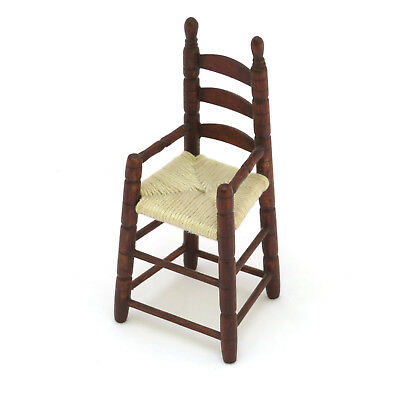 Artisan George Hoffman Dollhouse Miniature Shaker Child's High Chair