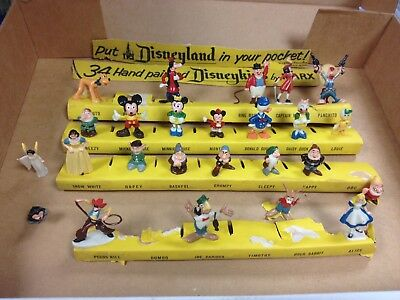 LOT OF 25 of the 1st series of Hand Painted DISNEYKINS 1960