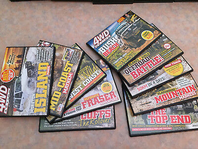 SELECTION of 10 x 4WD ACTION DVD LOT 1
