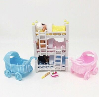 NEW **LOL Surprise Dolls Bunk Beds Strollers Lil Sisters DOLLS NOT INCLUDED