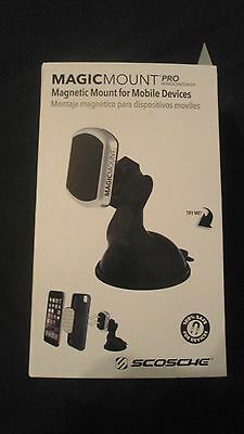 Scosche MagicMount PRO Window / Dash Magnetic Mount For Mobile Devices
