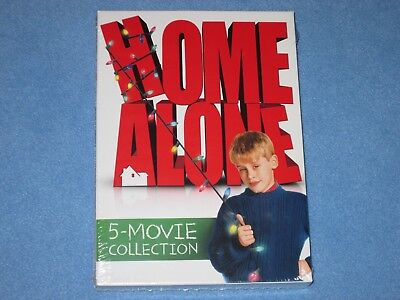 HOME ALONE: 5-MOVIE COLLECTION (DVD, 2017, 5-Disc Set) ***BRAND NEW*** Christmas