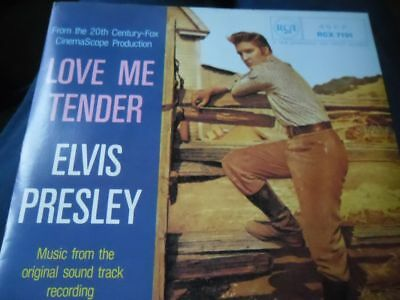 Elvis Presley  Ep  Love Me Tender  Rca Rcx 7191  Uk  Mint!!  1981