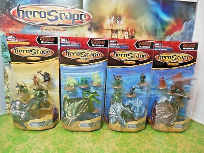 HEROSCAPE Dungeons & Dragons Figures - Wave 11 (4 Packs) ** NEW + SEALED **