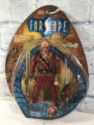 Farscape Series 1 Action Figure La D'argo Luxan Warrior Toy Vault 2000 NIB Mint!
