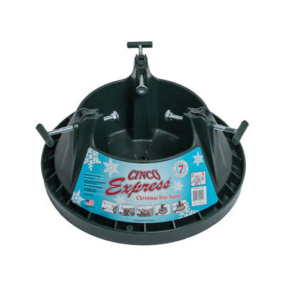 Cinco Express 7 ft (2.1m) Christmas Xmas Tree Stand heavy Duty & Water Reservoir