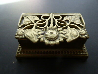Antique Victorian Double Stamp Box.