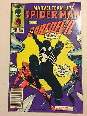 Spiderman and daredevil plus: the black widow Marvell comic book- good condition