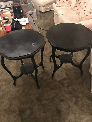 Antique occasional table X 2