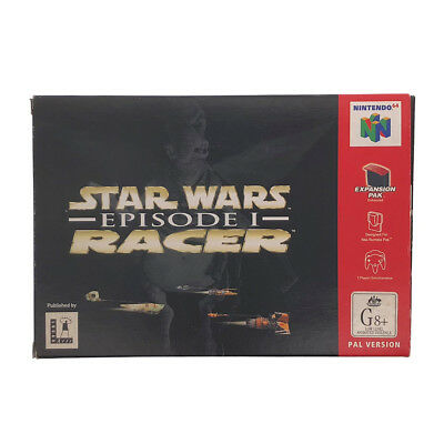 Star Wars Episode 1 Racer Boxed N64 Game USED