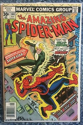 Amazing Spider-Man #168 - Will-O The-Wisp - Marvel!