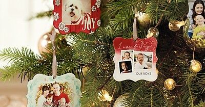 Personalized Metal Ornament Shutterfly (CCCP) EXP 12/31/2018