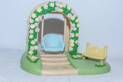 Sylvanian Family Accessories - Garden Swing and Bench