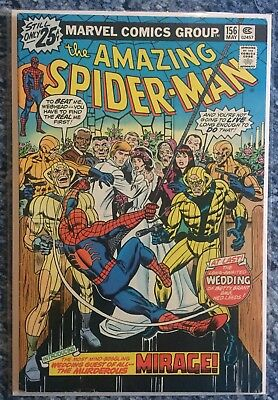 AMAZING SPIDER-MAN #156 - 1st Appearance Of MIRAGE - Marvel
