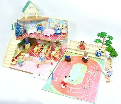 *fistuff* Sylvanian BOXED Decorated Berry Grove School Figures Sports Sets Xmas