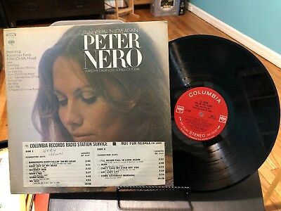 Peter Nero Ill Never Fall In Love Again NFS Radio Station Jacket Lp Record