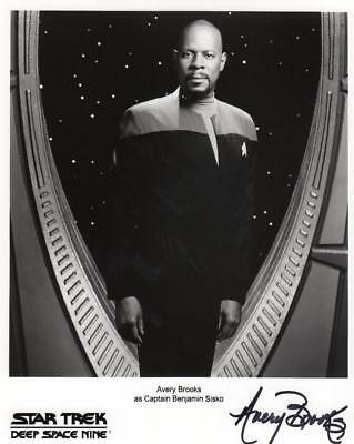 Avery Brooks Autographed Signed 8 by 10 photo with COA Star Trek Benjamin Sisko