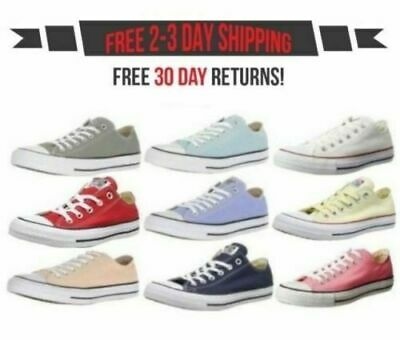 cc91704bb2133 Converse Chuck Taylor All Star Low Top Canvas Classic Ox Shoes Sneakers  Unisex