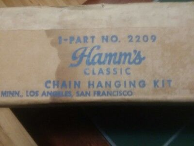 Extremely rare hamms beer Scene a rama hanging kit part #2209 last one...