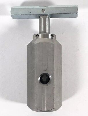 "Midland Dover Opw 3/4"" Lp Liquefied Petroleum Gas Stainless Steel Needle Valve"