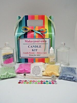 Candle Making Kit - Candle Powder - Great for Kids Free post