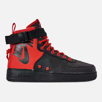 detailed look b6703 3aa20 Nike Mens Sf-Afi Mid Habanero Red Black Casual Shoes 2019 **Free Post