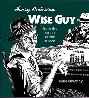 Harry Anderson Wise Guy by Caveney Magic Biography-1st Ed-Card Close-Up Illusion