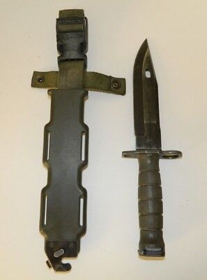 Lan-Cay M9 US Military Fighting Knife & Scabbard Authentic LanCay 4