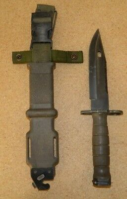 Lan-Cay M9 US Military Fighting Knife & Scabbard Authentic LanCay 1