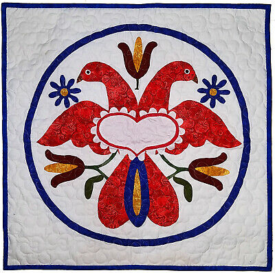 Family / Harmony Pennsylvania Hex wall sized FINISHED QUILT