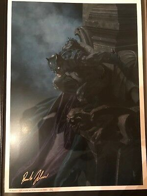 Nycc 2018 Limited Edition Exclusive - Batman Lithograph Signed Riccardo Federici