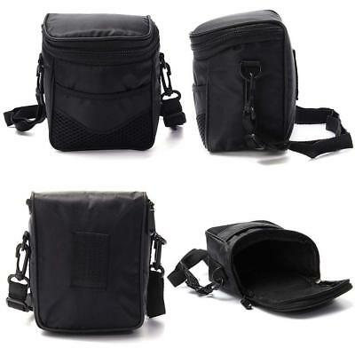 Travel Digital Camera Case Protective Pouch Shoulder Bag For Nikon Canon Sony <<