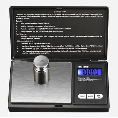 Mini Digital Electronic Pocket Gold Jewellery Weighing Scales 0.01G to 500 Grams